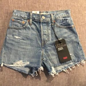 NWT Size 24 Levi's Wedgie Shorts